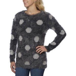 Joseph A. Polka Dot Sweater